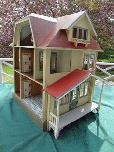 Fantastic Gottschalk Doll House with Nine Rooms