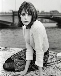 Classic. Jane Birkin. - want her hair/to be her!!