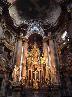 Church of St. Nicholas... Prague-Czech Republic...