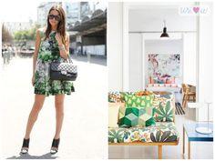 floral: fashion x decor | http://casadasamigas.com/
