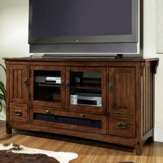 Somerton Dwelling Craftsman Entertainment Console - TV Stands at Hayneedle