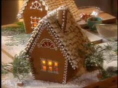 Gingerbread Houses Stained Glass And The Window On Pinterest