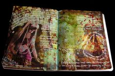 Juanita Burton, altered art journals