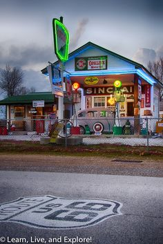 Route 66 Kicks - Chicago to Joplin ~ Learn, Live, and Explore!