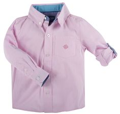 "Andy & Evan ""Pink Mini Check"" Checkmate Shirt"
