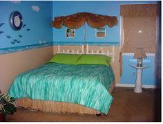 Beach theme bedroom