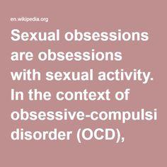compulsive sexual disorder symptoms