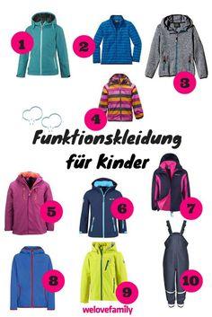 Funktionskleidung für Kinder: Darauf kommt es an