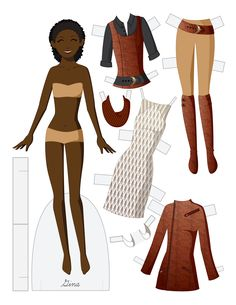 GINA by Julie Matthews from Paper Doll School