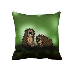 Zazzle has everything you need to make your wedding day special. Shop our unique selection of Animal wedding gifts, invitations, favors and so much more! Cute Pillows, Throw Pillows, Clocks, Hedgehog, Wedding Gifts, Cool Stuff, Unique, Animals, Products