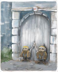 "Przejrzyj mój projekt w @Behance: ""dwarves"" https://www.behance.net/gallery/44531473/dwarves"
