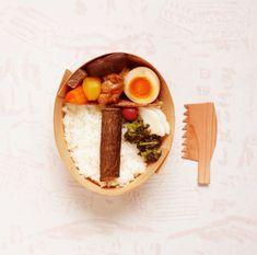 のこぎりで食べるお弁当。林業の現状をおいしく訴える、大分県日田市の「きこりめし」