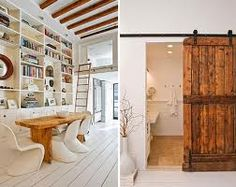 white and wood - Google Search