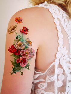 temporary tattoo from Tattoorary on etsy