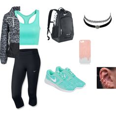 Gym outfit {Set 1}
