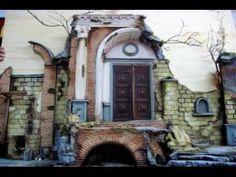 Creazione di un Presepe Napoletano Settecentesco by (www.scenografiepres...