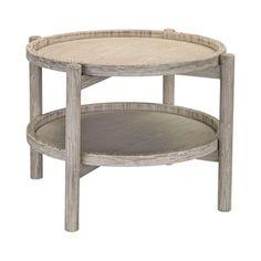 Timberwolf Side Table