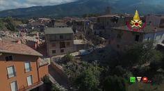 Sisma centro Italia - Soccorsi dei Vigili del Fuoco - Amatrice 24 Agosto...