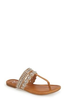 Jessica Simpson 'Roelle' Embellished Sandal (Women) available at #Nordstrom size 9