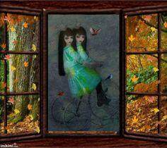 Autumn Lady by Eui Theohari