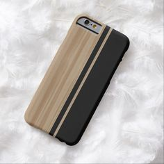 Awesome iPhone 6 Case! Wood and Carbon Fiber iPhone 6 case. It's a completely customizable gift for you or your friends.
