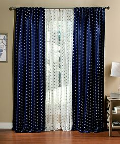 semi p drapes boch exclusive w furnishings fabrics opaque x curtain blackout in flora panel navy l curtains