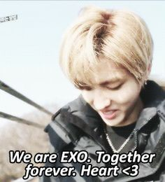 Ok seriously the feels in this gif is unbearable! I miss you so much Kris and soon to be Luhan :'( EXO forever.