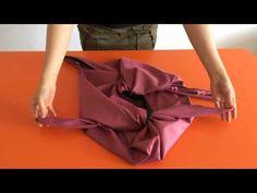 Furoshiki Taschen für den Sommer - YouTube