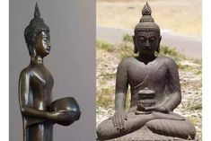 भगवान बुद्धांचे भिक्षापात्र कुठे आहे? भगवान बुद्धांच्या भिक्षापात्राचा प्रथम उल्लेख बौद्ध साहित्यात केसरीया स्तूपाच्या इथे झालेला आढळतो Birthday Photos, Buddha, Lord, Statue, Anniversary Pictures, Sculptures, Sculpture