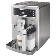 Saeco Xelsis SS Automatic Espresso Machine Stainless Steel -- Continue to the product at the image link.