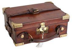 Leather Shotgun Cartridge Case, C. 1890