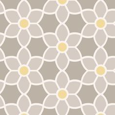 Brewster Home Fashions Simple Space II Blossom x Floral Embossed Wallpaper Roll Color: Gray