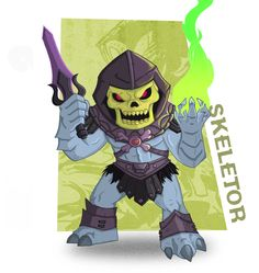 Meejitz - Skeletor da Warrior by happymonkeyshoes.deviantart.com on @deviantART
