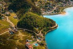 Nature Photography, Nature Art, Tree Photography, Travel Photography, Aerial Photography, Large Print, Large Photo, Pokhara, Nepal, Hills