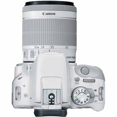 Canon EOS Rebel SL1 18.0 MP Digital SLR Camera - White - DA 18-55mm and Tamron 70-300mm Lenses