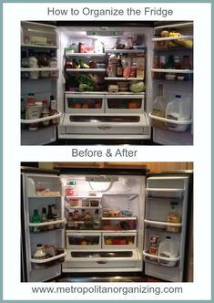 How to Organize the Fridge LIke a Pro + Best Practices for KEEPING it Organized by Geralin Thomas.