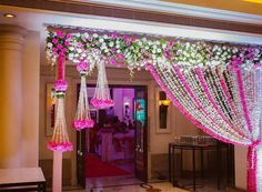 When you're looking for flower decorators in Hyderabad or Wedding Stage Decoration, choose the best professionals. Mars Event Planner would help make your perfect celebration happen in a unique and luxurious style. Wedding Hall Decorations, Wedding Reception Backdrop, Marriage Decoration, Wedding Entrance, Wedding Mandap, Wedding Gate, Wedding Backdrops, Decor Wedding, Indian Wedding Receptions