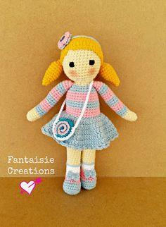 Fantaisie Creations: Crochet doll