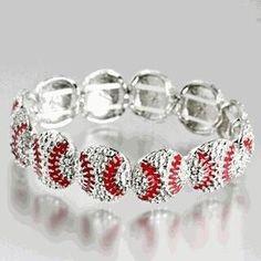 Baseball bracelet :)