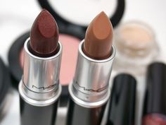 MAC Magnetic Nude Collection: Lipstick Carnal Instinct and Sensual Sparks