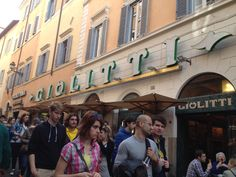 "Giolitti, gelateria, Roma, always ""flaborable"" Street View, Spaces, Rome"