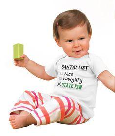 Santa State Fan Infant