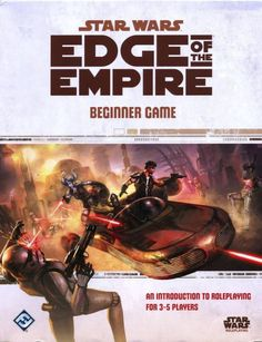 Star Wars Edge of the Empire: Beginner Game (boxed set) ~ Fantasy Flight Games (2012)