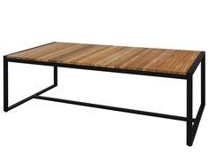 ZUDU Table rectangulaire by MAMAGREEN design Vincent Cantaert, Barbara Widiningtias