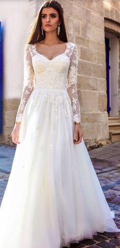 Wedding dress idea; Featured Dress: Crystal Desing