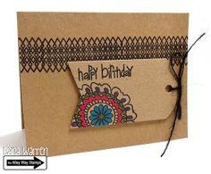 The Alley Way Stamps - Designer Dana Warren Flower Doodles, Bitty Borders