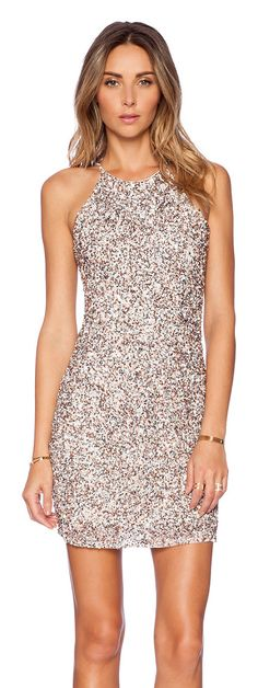 PARKER embellished dress found on Nudevotion
