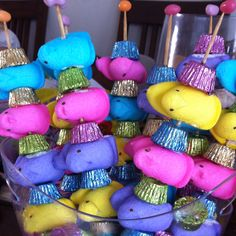 Sweet shish kabobs... My Easter creation ;)