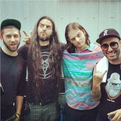 Bassnectar, Zeds Dead and Paper Diamond. (From Lorin's instagram)