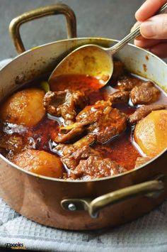 Aloo Gosht ( Mutton with Potato Instant Pot Video) Foodies Terminal